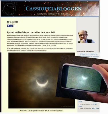 solförmörkelse live 2015 sverige