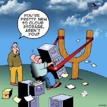 Sätt att spara dokument i molnet