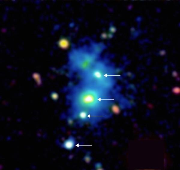 view-four-quasars