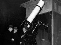 Observatoriet i Stadsparken, Lund 1941. Foto: Sydsvenskan / Historisk Bildbyrå