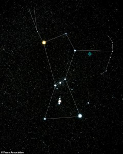 Orion Constellation (ground-based image)