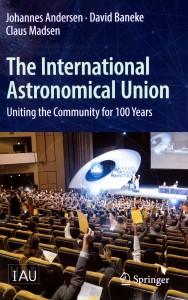 Cover of the new book about the IAU
