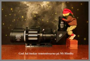 Julkort Mt Hindby
